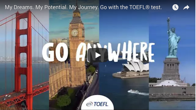Connectere TOEFL test