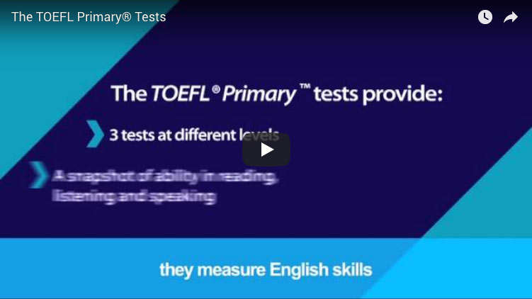 Connectere TOEFL Primary