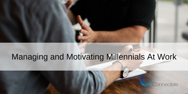 Managing and Motivating Millennials At Work