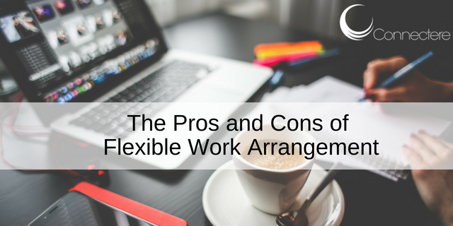 The Pros and Cons of Flexible Work Arrangement