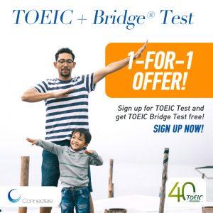 TOEIC Test, TOEIC Bridge, 1-for-1