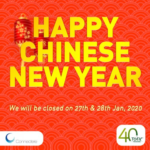 Happy Chinese New Year, Connectere Singapore