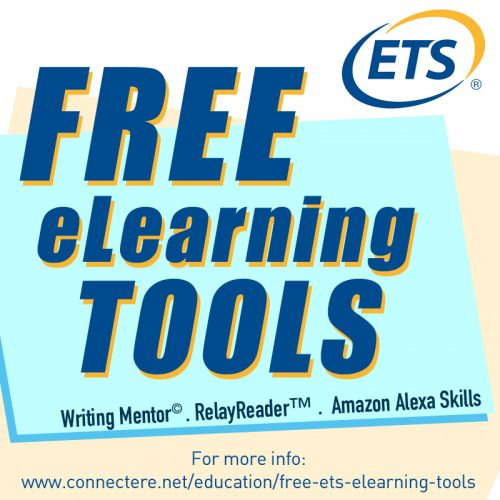 ets, writing mentor, relayreader, amazon alexa skills